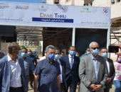 رئيس جامعة الإسكندرية يتفقد وحدة تحاليل كورونا بالمستشفى الرئيسي الجامعى