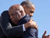 أوباما في جنازة جون لويس: انا مدين له ولرؤيته للحرية الديموقراطية