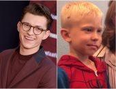 """Spider-Man يدعو الطفل الشجاع """"بريدجر ووكر"""" لحضور تصوير الجزء الجديد"""