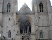 فيديو.. لاجئ رواندى يعترف بإضرام النار فى كاتدرائية تاريخية فى نانت الفرنسية