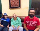 """عمرو عبد الجليل مع هانى سلامة فى فيلمه الجديد """"تحت تهديد السلاح"""""""