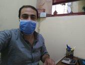 """""""أحمد"""" من القاهرة يشارك صورته بالكمامة التزاما بالإجراءات الوقائية للحد من كورونا"""