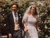 صور جديدة من حفل الزفاف الملكى للأميرة بياتريس وإدواردو مابيلى موزى