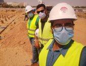 """""""أحمد"""" من القاهرة الجديدة يشارك صورته بالكمامة التزاما بالإجراءات الوقائية"""