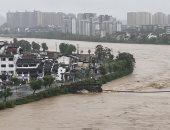 فيديو.. الفيضانات تغمر أجزاء من إقليم هوبى مهد وباء كورونا