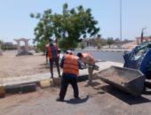 رئيس مدينة سفاجا: رفع 20 طن مخلفات ضمن حملات النظافة وتفريغ حاويات القمامة