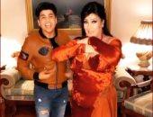 """فيفى عبده ترقص على أغنية """"كان ياما كان"""" بصوت عمر كمال فى منزلها.. فيديو"""