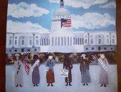 ميلانيا ترامب تنشر أعمال المشاركين بمعرض لإحياء ذكرى منح الأمريكيات حق التصويت