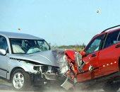إصابة 4 أشخاص فى حادث تصادم بالصحراوى الشرقى بالمنيا
