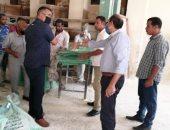 صور.. تحرير 14 محضرا فى حملات على الأسواق والمخابز والمحلات بالأقصر