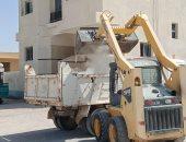 مجلس مدينة الحسنة بوسط سيناء يواصل حملات التخلص من المخلفات