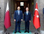 قطر تواصل الخيانة.. وزير دفاع الدوحة يلتقى نظيره التركى ووزير داخلية السراج