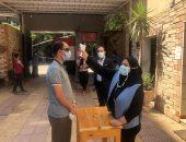 """251 طالبا وطالبة بالفرقة النهائية يؤدون الامتحانات بـ""""تربية نوعية طنطا"""".. صور"""