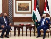 """وزير الخارجية يؤكد لـ""""أبو مازن"""" موقف مصر الداعم لاستعادة حقوق الشعب الفلسطينى"""