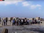 فيديو.. رحلة العثور على جثمان الشاب نور سعد بين صخور بلطيم