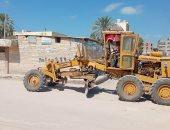 حملات مكثفة لأعمال النظافة والتجميل ورفع كفاءة الإنارة بكفر الشيخ