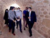 رئيس الوزراء يتفقد أعمال المرحلة الأولى من تطوير مدخل دير سانت كاترين