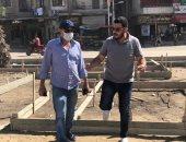 حملات مكثفة لأعمال النظافة والتجميل بحي ثان المحلة الكبرى