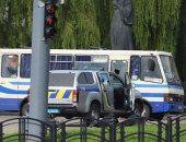 النيابة الأوكرانية: المسلح مختطف الحافلة يهدد بتفجير قنبلة فى مكان آخر