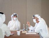 بن زايد يطلع على أبرز المشاريع الاستثمارية والإنجازات فى اجتماع مجلس إدارة أبو ظبى