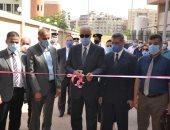افتتاح وحدة تحاليل كورونا Drive Through بجامعة الإسكندرية.. صور