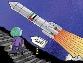 كاريكاتير صحيفة إماراتية.. العالم يشاهد إنجاز مسبار الأمل
