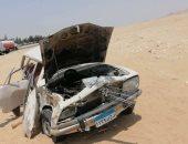 إصابة 8 من عمال اليومية فى حادث انقلاب سيارة بالطريق الإقليمى بالشرقية