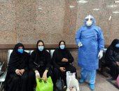صور.. مستشفى الأقصر العام للعزل: خروج 5 حالات جديدة بعد التعافى من فيروس كورونا