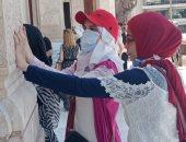 السياحة تنظم جولة لوفد من الشباب المكفوفين لقصر البارون