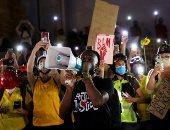 محتجون فى بورتلاند يرشقون الشرطة بقنابل حارقة باليوم الـ100 للمظاهرات