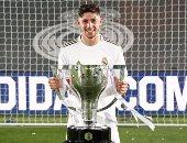 فالفيردي يحرز هدف ريال مدريد الأول ضد بيتيس بالدقيقة 14.. فيديو