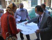 """نائب محافظ المنيا يراجع تراخيص البناء بمنطقتى دماريس وحى وسط """"صور"""""""