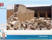 رئيس قطاع الآثار الإسلامية ينفى شائعة هدم بعض المقابر لتنفيذ محور الفردوس