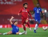 ليفربول ضد تشيلسي.. 50 لمسة لـ محمد صلاح × 10 أرقام
