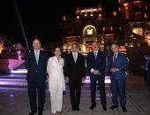 وزير السياحة ينظم حفل عشاء لـ 41 سفيرا من دول العالم بحديقة قصر البارون امبان