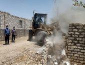 صور.. محافظ أسيوط: إزالة 17 حالة بناء مخالف وتعديات على الأراضى بمركز أبنوب