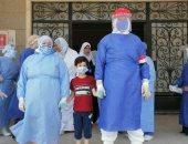 تعافى طفل 5 سنوات من كورونا بمستشفى السعديين بالشرقية