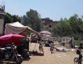 فض سوق قرية الكمايشة بتلا فى المنوفية منعا للتزاحم بسبب فيروس كورونا