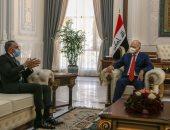الرئيس العراقى لسفير مصر ببغداد: ندعم مصر سعيها لحماية حقوقها المائية