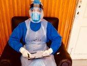 """الجيش الأبيض...""""محمود"""" طبيب بمستشفى عزل جامعة المنصورة على خط مواجهة كورونا"""