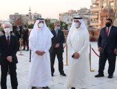 سفير البحرين بمصر يزور قصر البارون تلبية لدعوة وزير السياحة والآثار
