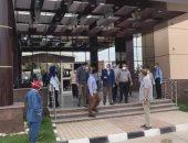 أسرة مريض تعتدى بالضرب على مدير مستشفى السنطة بالغربية