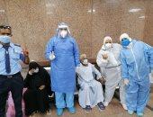 إرتفاع عدد متعافي كورونا بمستشفى الأقصر العام للعزل إلى 376