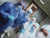 الجيش الأبيض.. أخصائيو التمريض بمستشفى تمى الأمديد للحجر على خط مواجهة كورونا