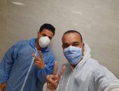 شفاء 10 حالات من فيروس كورونا داخل مستشفى الأقصر العام