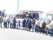 التحفظ على 19 توكتوك وإزالة شوادر الماشية بأحياء الإسكندرية