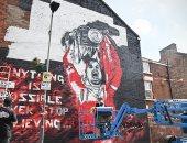 جدارية هندرسون تزين شوارع ليفربول بعد الفوز بجائزة الأفضل بالبريميرليج