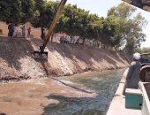 """""""حماية النيل بالأقصر"""" تزيل 10 حالات تعد وإلقاء مخلفات على حرم النهر"""