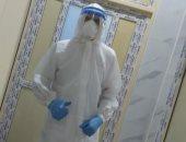 """الجيش الأبيض.."""" مصطفى"""" فنى تمريض بمستشفى صدر طنطا فى مواجهة فيروس كورونا"""