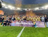 شاهد.. كأس روسيا يتعرض للكسر خلال احتفالات زينيت باللقب